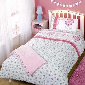 Pippa Printed Duvet Set Single
