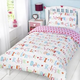 Chill Out Printed Duvet Set Single