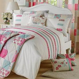 Petticoat Embroidered Duvet Set