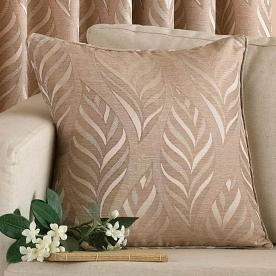 Narrow Leaf Filled Cushion