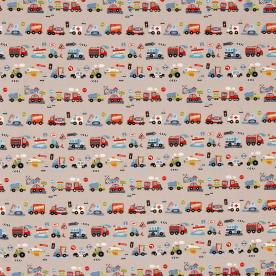 Klaxon Curtain Fabric