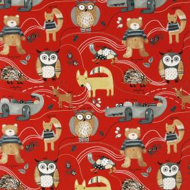 Nature Trail Curtain Fabric