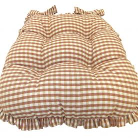 Oxford Frilled Seat Pad