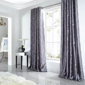 Midtown Eyelet Lined Curtains