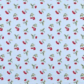 Cherries Curtain Fabric