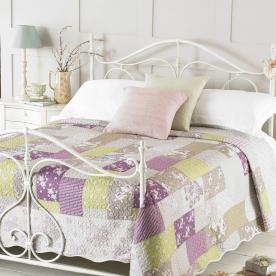 Ellie Luxury Quilted Bedspread
