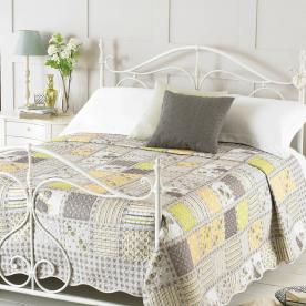 Ava Luxury Quilted Bedspread