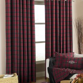 Val d'Isere Ready Made Eyelet Curtains