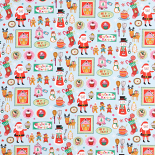 Christmas Bake Curtain Fabric
