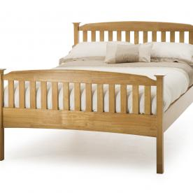 Eleanor Wooden Bed-High Footend