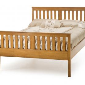 Grace Wooden Bed-High Footend