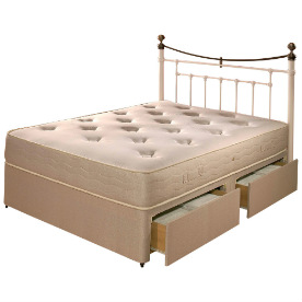 Memory Pocket 600 Divan Bed Set