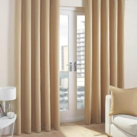 Cuba Ready Made Lined Eyelet Curtains