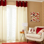 Contour Ready Made Eyelet Curtains