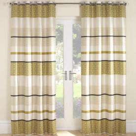 "Cascade Ready Made Lined Curtains 66""x72"""
