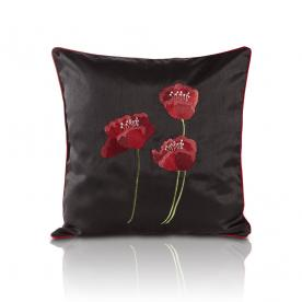 Poppies Cushion Filled