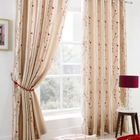 Blossom Ready Made Lined Eyelet Curtains