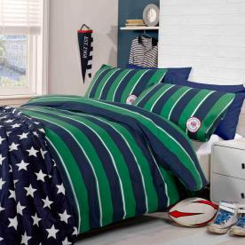 Harvard Printed Duvet Set