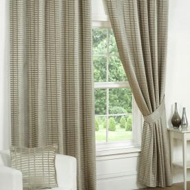 Vancouver Ready Made Lined Eyelet Curtain
