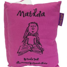 Roald Dahl's Matilda Book Cushion Filled