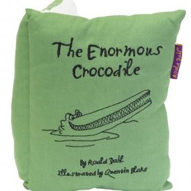 Roald Dahl's Enormous Crocodile Book Cushion Filled