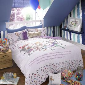 Roald Dahl's Charlie and The Chocolate Factory Duvet Set