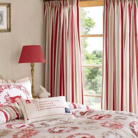Kirsty Allsopp - Cecile Ready Made Lined Curtains 66 x 72