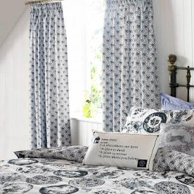 Kirsty Allsopp - Jocelyn Ready Made Lined Curtains 66 x 72