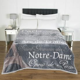 Paris Luxury Blanket