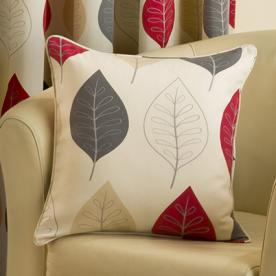 Leaves Filled Square Cushion
