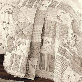 Lila Quilted Bedspread