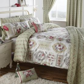 Pretty As A Picture Quilted Bedspread