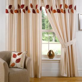 Amorini Ready Made Eyelet Curtains