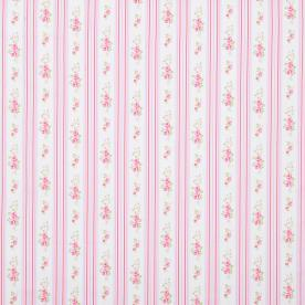 Floral Stripe Curtain Fabric