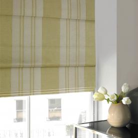 Satin Stripe Roman Blind