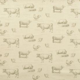 Farmyard Curtain Fabric
