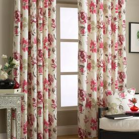 Penelope Ready Made Eyelet Curtains