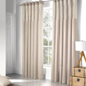Savoy Ready Made Eyelet Curtains