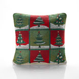 Christmas Tree Cushion Filled