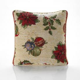 Baubles Cushion Filled