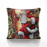 Santa Claus Cushion Filled