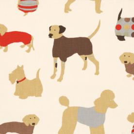 Mans Best Friend PVC Fabric