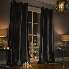 Kylie Minogue - Iliana Ready Made Eyelet Curtains