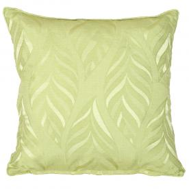 Narrow Leaf Filled Square Cushion