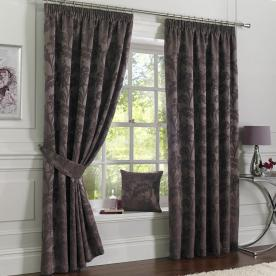 Baroque Ready Made Lined Curtains