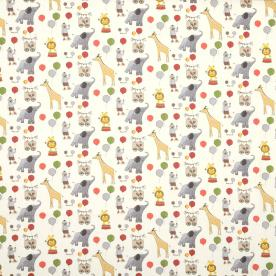 Elliot Gris Curtain Fabric