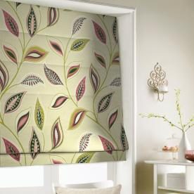 Tropical Roman Blind