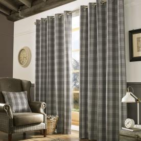 Archie Ready Made Curtain Eyelet Curtains