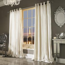 Kylie Minogue Iliana Ready Made Eyelet Curtains