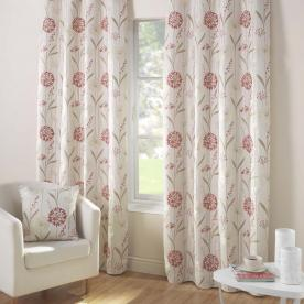 Santorini Ready Made Eyelet Curtains